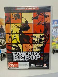Cowboy Bebop Remix Complete Collection *Good Condition* 6 DVD Set