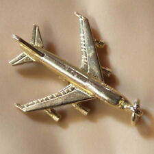 9 ct GOLD solid jumbo jet charm