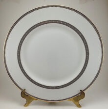 """Vera Wang Wedgwood Vera Lace Gold Dinner Plate 10 3/4"""" - Perfect - Unused!"""