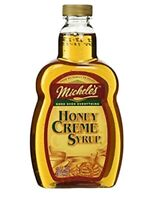 Michele's Gourmet Honey Creme Syrup 13oz. Natural sweet creamy smooth