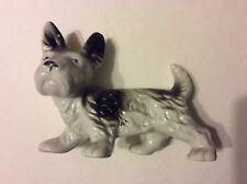 Vintage Large Scottie Porcelain Dog Made In Japan 1950's - 1960's