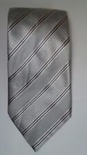 Donald Trump Signature Gold Bar Tie Silver White Gray Pink.  60L x 3.75W    (T1)
