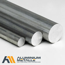 Aluminium rund Ø 10 - 45mm Aluminiumstange Rundstange Alu AlCuMgPb Rundmaterial