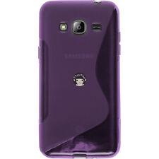 For Samsung Galaxy J3V Sol Sky J3 2016 Case S-Line Gel TPU Silicone Cover Skin