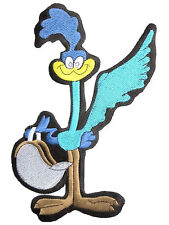 Road Runner Biker Racer Hotrod Embroidered Giant Back Vest Jacket Patch 9.7""