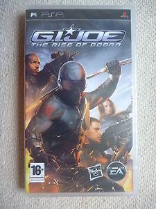 PSP - G.I.JOE: The Rise of Cobra [GI JOE] New/Sealed Game 1st Class Post!