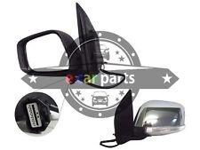 DOOR MIRROR FOR NISSAN NAVARA D40 12/2005-ON LEFT HAND SIDE CHROME ELECTRIC LED