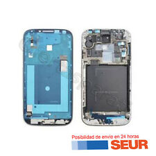 Marco frontal gris plata para Samsung Galaxy S4 I9500