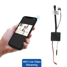 HIDDEN SPY CAMERA MODULE | WIFI LIVE VIEW | PIR | HD 1080P | COLOR | 64GB | USA