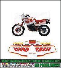 kit adesivi stickers compatibili xt 600 z tenere 3aj 1990 white