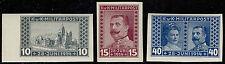 Österreich Bosnien u. Herzegowina Mi.Nr. 121-23U postfrisch Mi.Wert 120€ (1257)