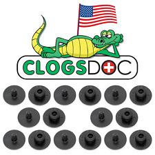 8 Crocs Rivets Replacement Fastener Button Repair Parts Shoe Fix by ClogsDoc USA