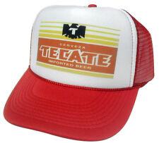 Tecate Beer Trucker Hat Mesh Hat Snap Back Hat *NEW red
