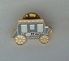 93 - 94 F L T Murray Stagecoach Lapel Souvenir Hat Pin