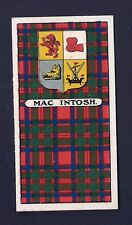 DUNCAN - SCOTTISH CLANS, ARMS OF CHIEFS (GREEN) - MAC INTOSH