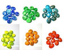 250g Coloured Decorative Stones Aquarium Fish Tank Vase Craft Pond Ornament x 2