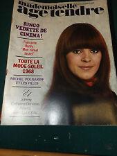 Mademoiselle Age tendre - N°42 - AVRIL 1968 / POLNAREFF,JOHNNY,RINGO...ca 61