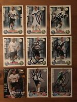 DERBY COUNTY FC - 9 SIGNED Cards - Match Attax/Shoot 2001-12 ***RARE***