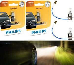 Philips Rally Vision H3 100W Two Bulbs Fog Light Off Road High Wattage Replace