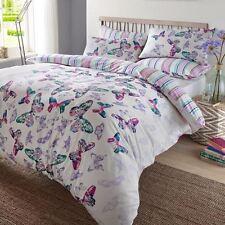 Dreamscene Aquarelle Papillon Parure de lit avec Taie D oreiller Polyester...