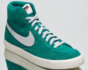 Nike Blazer Mid '77 Suede Men's Neptune Green Pure Platinum Lifestyle Sneakers