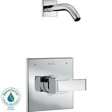 Delta Ara 1-Handle Chrome Shower Faucet Trim Less Showerhead with Valve D2560V