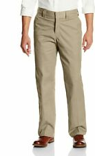 Dickies Men's Regular Fit Twill Work Pant, Desert Sand, 36X32