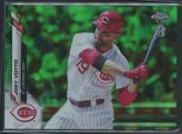 2020 TOPPS CHROME BEN BALLER GREEN REFRACTOR JOEY VOTTO /99