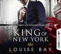 LOUISE BAY - KING OF NEW YORK - NICOLE ENGELN, JOHANNES RASPE  4 CD NEW
