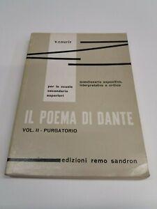 IL POEMA DI DANTE   PURGATORIO  VOL. II  REMO SANDRON