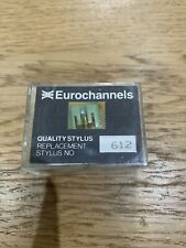 REPLACEMENT AIWA AN-4932 RECORD NEEDLE STYLUS NEW OLD STOCK EUROCHANNELS 612