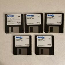 """TurboTax Software - 1995 Tax Year five 3.5"""" Floppy Disks - VINTAGE"""