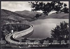 BOLOGNA CASTIGLIONE DEI PEPOLI 05 Lago BRASIMONE - DIGA Cartolina FOTOGRAF. 1954