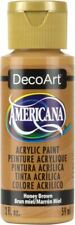6 Pack-Americana Acrylic Paint 2oz-Honey Brown - Opaque -Da-163