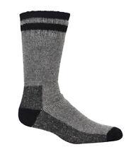 New Mens KODIAK Thermal Wool Black & Gray 4 Pair Socks Shoe Sz 7-12 Crew 4634