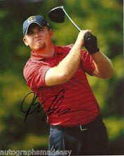 JB HOLMES PGA STAR SIGNED 8X10 PHOTO W/COA