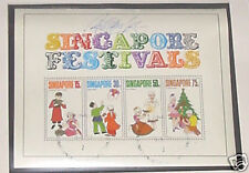 Singapore stamps - Festivals Miniature Sheet signature2