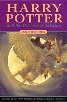 JK Rowling - Harry Potter & the Prisoner of Azkaban - UK First First Ed PBK