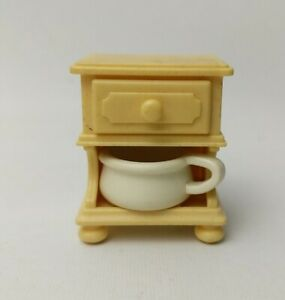 Playmobil Victorian House, Mansion Bedside table- Yellow