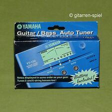 YAMAHA yt-150 Guitar/Bass auto sintonizzatore regolatore voce in imballo originale con batteria NUOVO TOP!