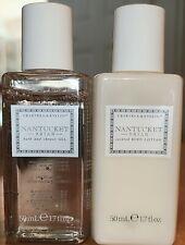 Crabtree & Evelyn Nantucket Briar Purse Travel size Shower Gel &Lotion set