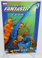 Ultimate Fantastic Four Vol 7 God War Marvel Comics TPB Trade Paperback NEW