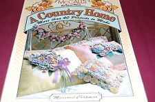 McCall's Creates A Country Home by Margaret Chapman - 40 + Projects - Hardcover