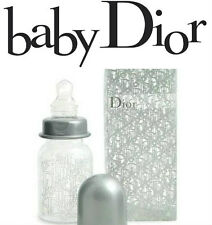 100% AUTHENTIC Ltd Edtn BABY DIOR SILVER UNISEX Signature BOTTLE  WORLD SELL OUT