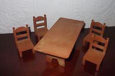 Sylvanian FAMILIES sala da pranzo/Cucina tavolo e sedie