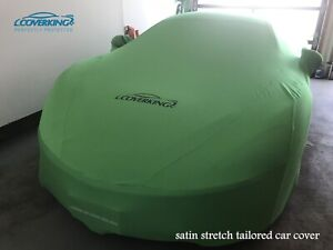 Premium Satin Stretch Indoor Tailored Car Cover for McLaren 570S - Made to Order