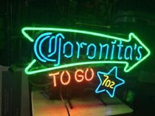 "New Coronita's To Go Neon Light Sign 24""x20"" Lamp Poster Real Glass Beer Bar"