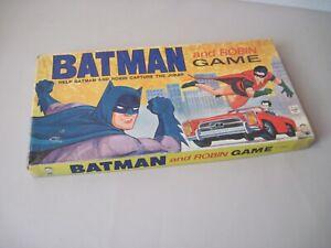 Vintage Hasbro Batman and Robin game