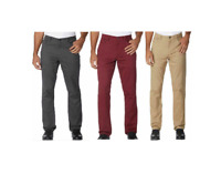 NEW!! English Laundry Men's 5-Pocket Soft Touch Twill Straight Leg Pants Variety