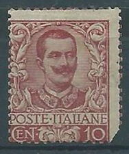 1901 REGNO FLOREALE 10 CENT MH * - RR1387